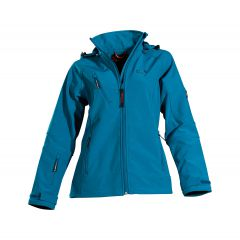 SALE OWNEY Damen Softshelljacke Matu Hood Petrol XS
