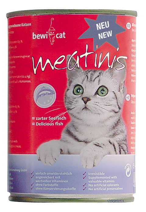 Bewi Cat Meatinis Seefisch
